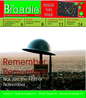 Image of Issue 004 of The Broadie