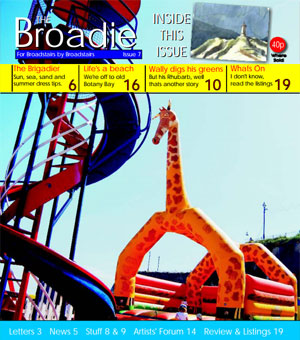 Image of Issue 008 of The Broadie