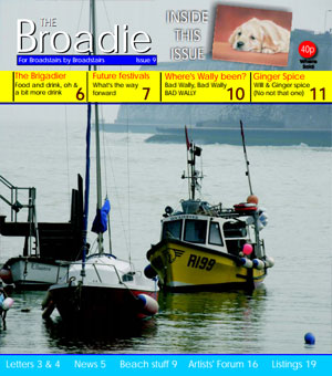 Image of Issue 009 of The Broadie