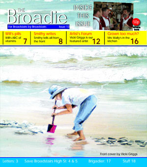 Image of Issue 013 of The Broadie