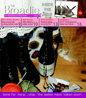 Image of Issue 014 of The Broadie