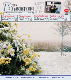 Image of Issue 015 of The Broadie