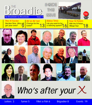 Image of Issue 017 of The Broadie