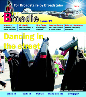 Image of Issue 019 of The Broadie