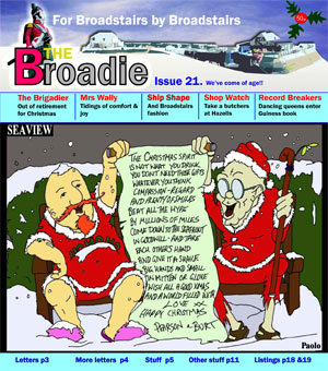 Image of Issue 021 of The Broadie