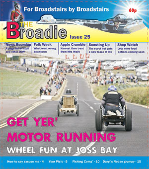 Image of Issue 025 of The Broadie