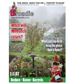 The Broadie Magazine, Main Image