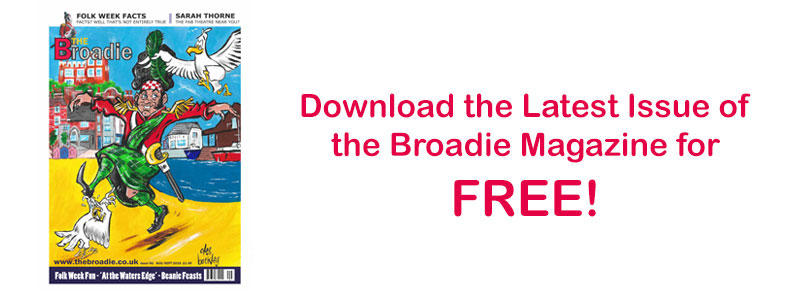 Download the latest issue of The Broadie Magazine!
