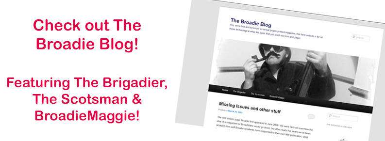 Check out The Broadie Blog!